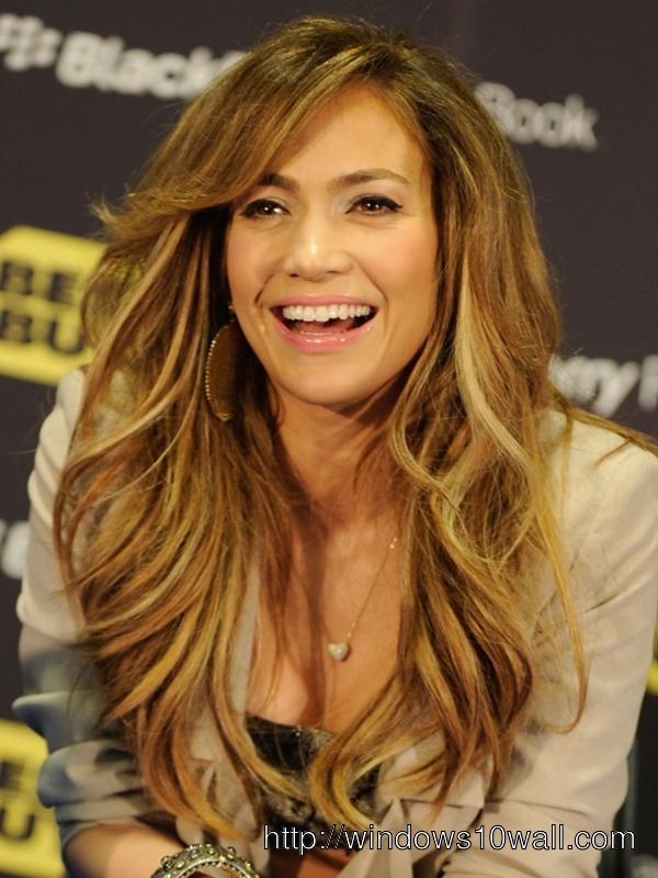 Jennifer-Lopez-Layered-Waves-hair-style-background-wallpaper