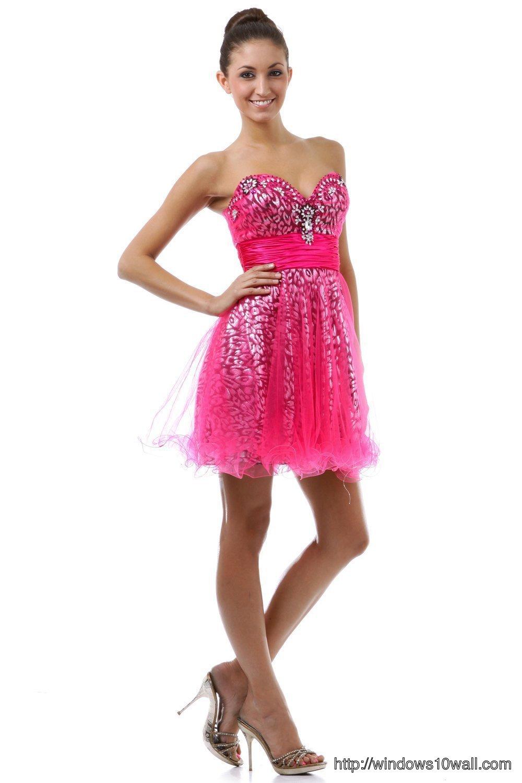 pink-short-prom-dress-background-wallpaper