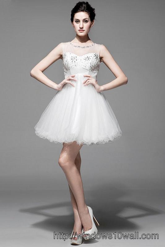 short-white-dresses-new-style-background-wallpaper