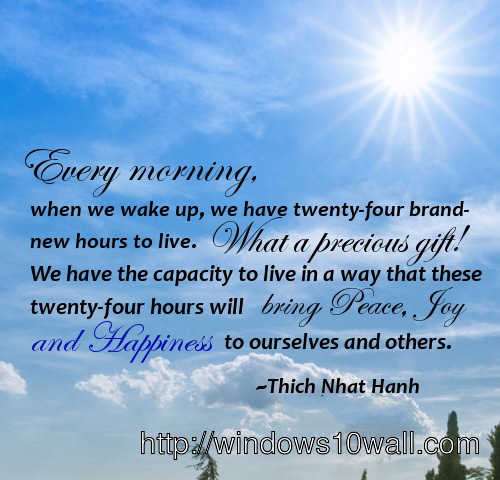 Christian Positive Morning Quotes: Windows 10 Wallpapers