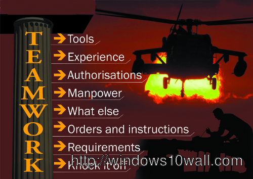 Inspirational Team Quotes Teamwork Wallpaper