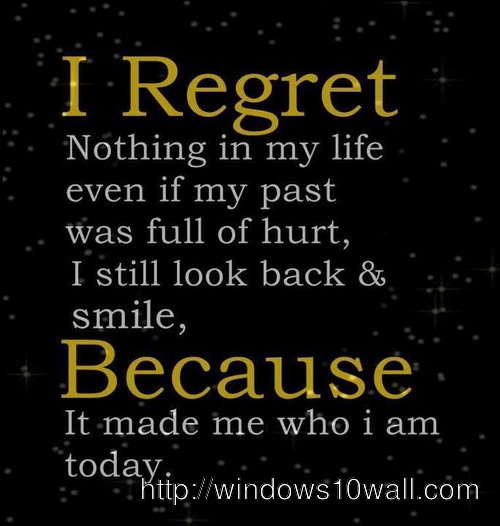 Past Memories Inspirational Picture Quotes Wallpaper