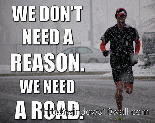 running-in-the-snow-inspirational-quotes-wallpaper