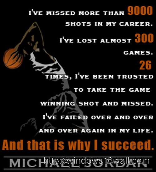 sports inspirational quotes michael jordan wallpaper